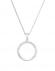 Boucles d'oreilles Pure Seduction Or Jaune Diamant 0,2ct