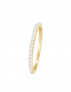 Bague Cayuga Or Jaune Diamant 0,1ct Multipierres (Topaze, Améthyste,Péridot,Citrine) 1,4ct