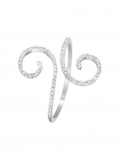 Bague Elisabeth Or Blanc Diamant 0,15ct