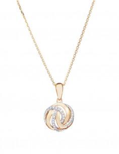 Boucles d'oreilles Eventail Délicat Or Blanc Diamant 0,15ct